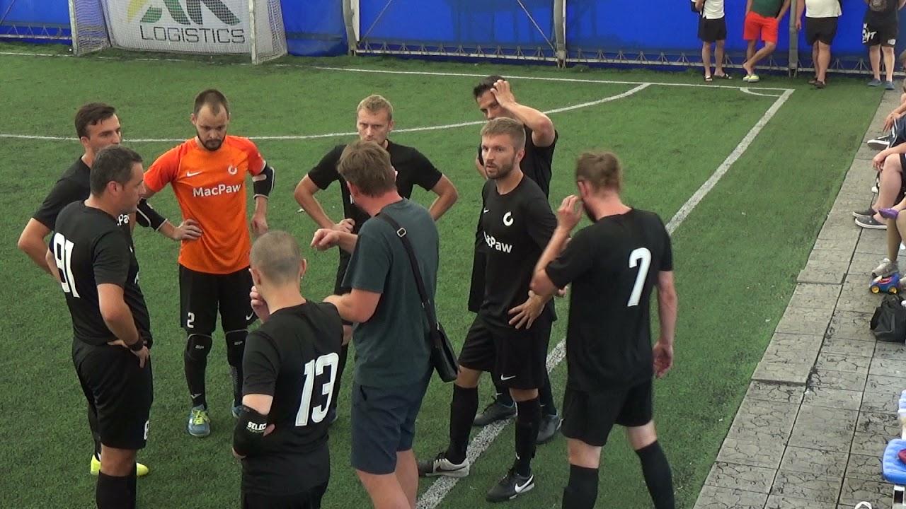 Матч повністю | CRO United 3 : 2 MacPaw
