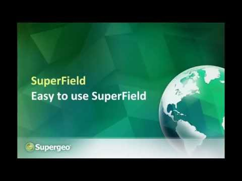 SuperField: Easy-to-use Mobile GIS Software