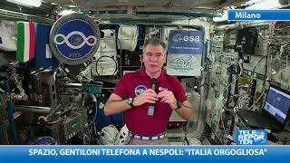 Spazio, Gentiloni telefona a Nespoli: