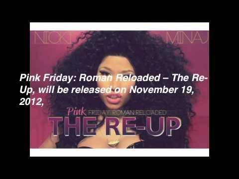 Nicki Minaj - Pink Friday: Roman Reloaded -- The Re-Up (Album Cover Art)