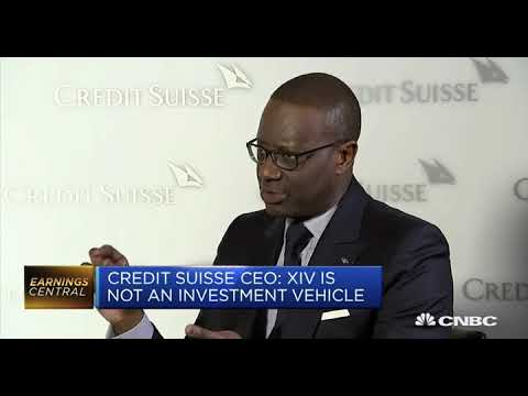 Credit Suisse CEO Says the XIV Prospectus Explained Danger of Product