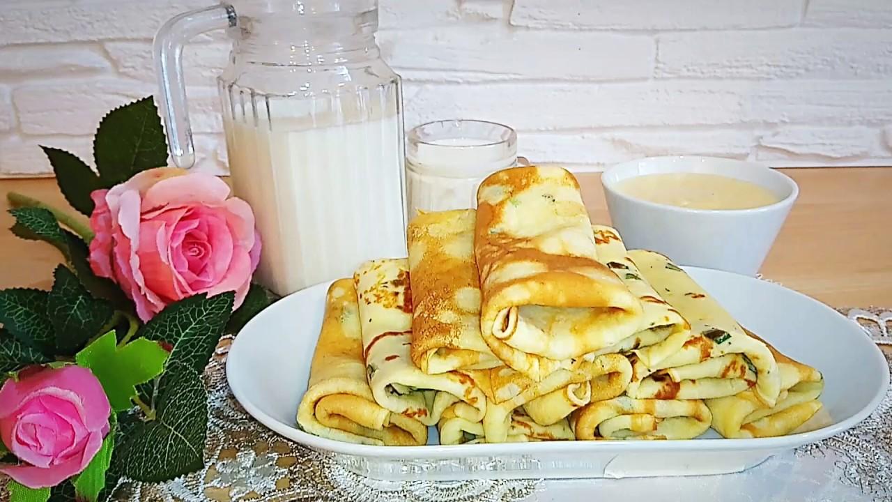 Луковые блины с сырно-фасолевым дипом. Супер закуска. Onion pancakes and cheese dip with beans.
