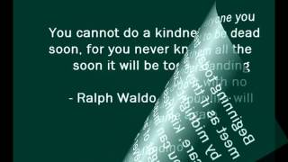 Quotes Of Kindness  - A New Way To See Things!