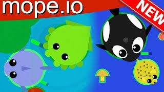 OMG THIS .io GAME HAS CHANGED SO MUCH!! | Mope.io Gameplay Part 9 (.io games)