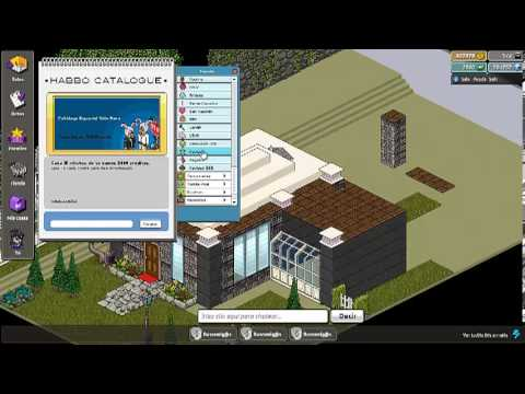 Como hacer tu casa en habbo pvp por fuera youtube for Casa moderna por fuera