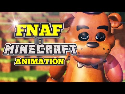 Five Nights at Freddy's in Minecraft Animation - Wrong World Right Friend