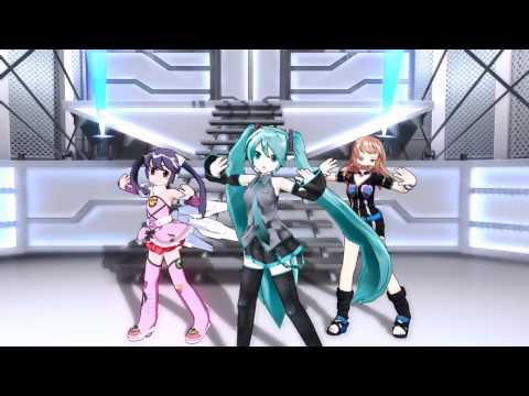 Dance×Mixer : 初音ミク - Get Wild (桃井はるこ)