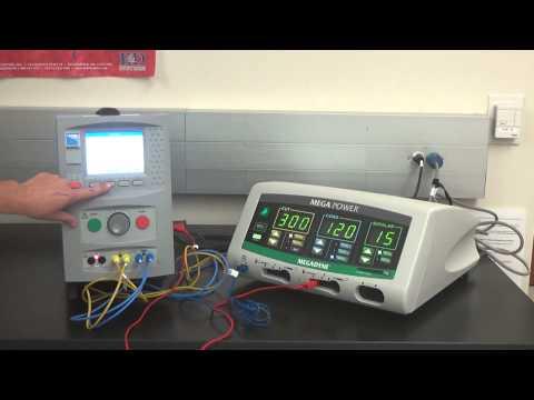 Rigel Medical Uni-Therm Electrosurgical Analyzer PM of MEGAPOWER ESU