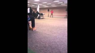 Markee the G- Foxie 105 Talent Audition