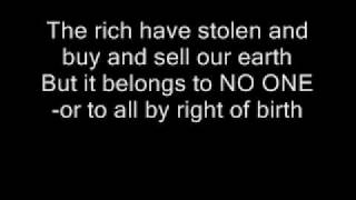 Oi Polloi - Take back the land ( lyrics )