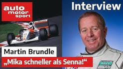 Formel Schmidt Interview mit Martin Brundle | auto motor und sport