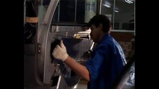Установка шумоизоляции ВАЗ 2112 3 часть (двери)