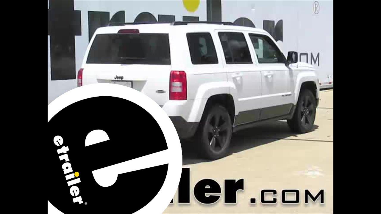 Jeep Patriot Tow Bar Wiring Manual Of Diagram Wrangler Trailer Hitch Install 2015 C13081 Etrailer Com Youtube Rh Jk