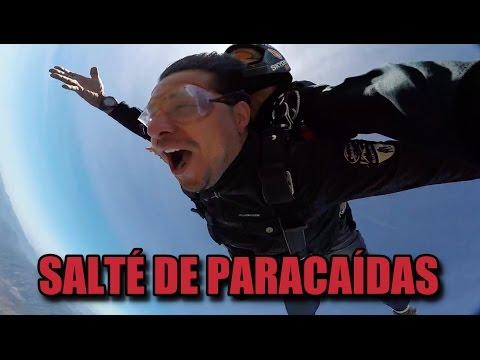 Salté de paracaídas | Víctor González