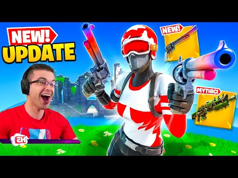 Nick Eh 30 reacts to NEW Exotic Revolver + Map CHANGE!