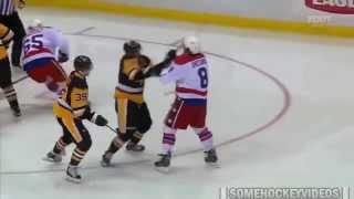 Ovechkin vs Penguins