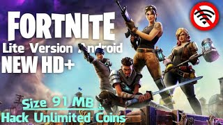 Rilis Di Android !!! Fortnite Lite 91 MB Offline | Red West Royale Practice Mod Apk Unlimited Money