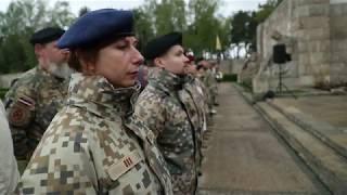 Ģenerāļa P. Radziņa piemiņas pasākums Rīgas Brāļu kapos