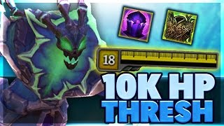 CRAZIEST HOOK | THIS NEW ITEM IS PERFECT FOR THRESH | 10K HP THRESH SUPPORT CARRY | BunnyFuFuu