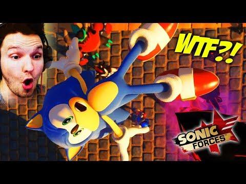 SONIC IST JETZT IM GEFÄNGNIS.. JETZT BIN ICH DER HELD !! | Sonic Forces