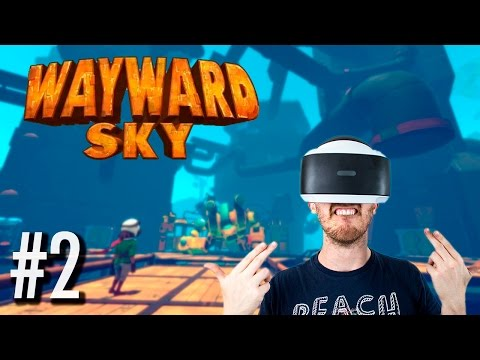 ANOTHER PLANE CRASH! | Wayward Sky #2 - Playstation VR Gameplay