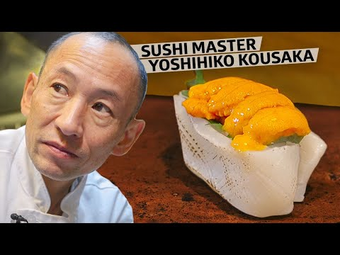 Sushi Master Yoshihiko Kousaka Has Earned A Michelin Star 10 Years In A Row — Omakase