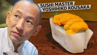 Sushi Master Yoshihiko Kousaka Has Earned a Michelin Star 10 Years in a Row - Omakase