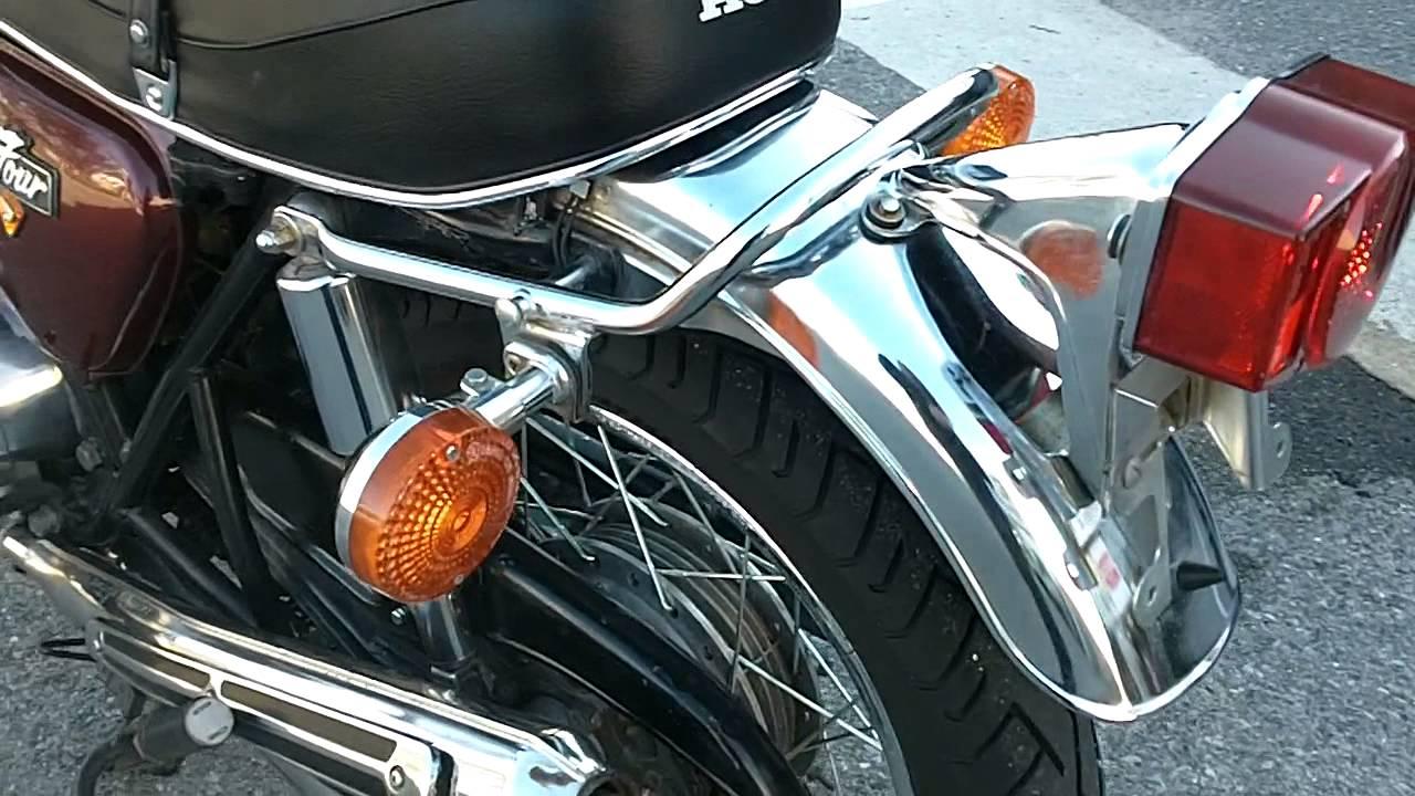 Honda CB750 4 1975 2549090 Red