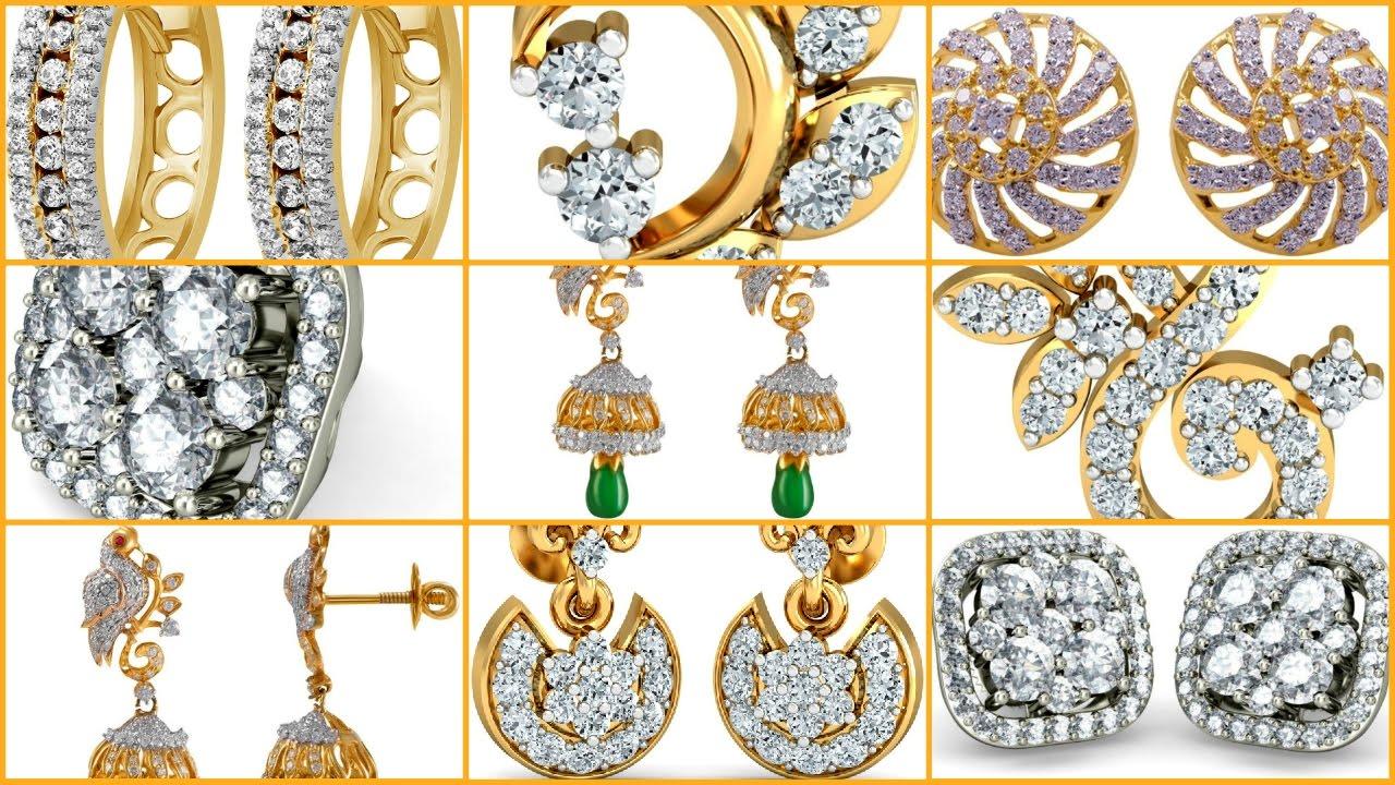 Modern Gold Earrings Earring Designs For You Jewellery