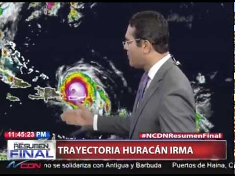 Dominican Republic News 2017 - Hurricane Irma Track