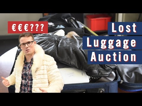 Lost Luggage Auction Haul!