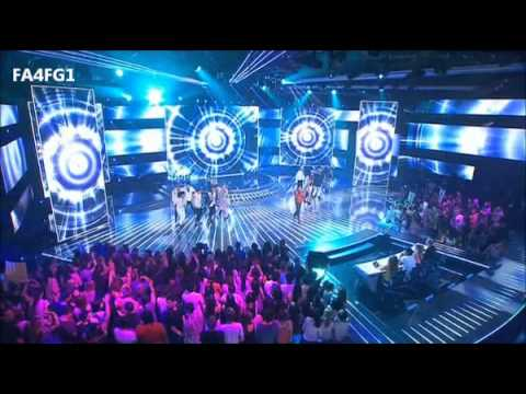 Jay Sean: Medley with TOP 8 - The X Factor Australia - Live Decider 5, TOP 8