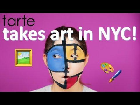 NYC gallery tour with @ArtMuseNY! | tarte talk
