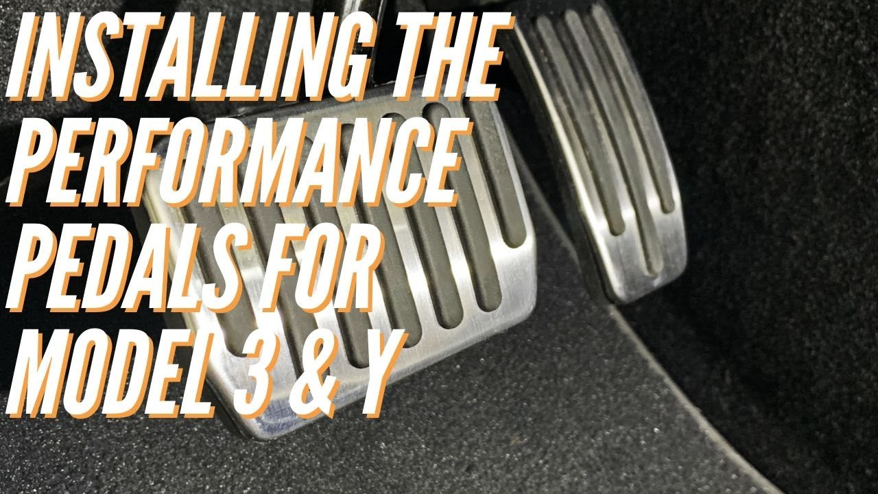 Installing the Performance Pedals for the Tesla Model 3 & Y