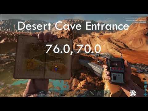 Ark : Extinction DLC |Cave Entrances W/ GPS Coordinates |King Titan