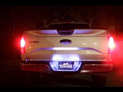 2015 F150 + LED TAG LICENSE PLATE LIGHTS FROM F150LEDS.COM