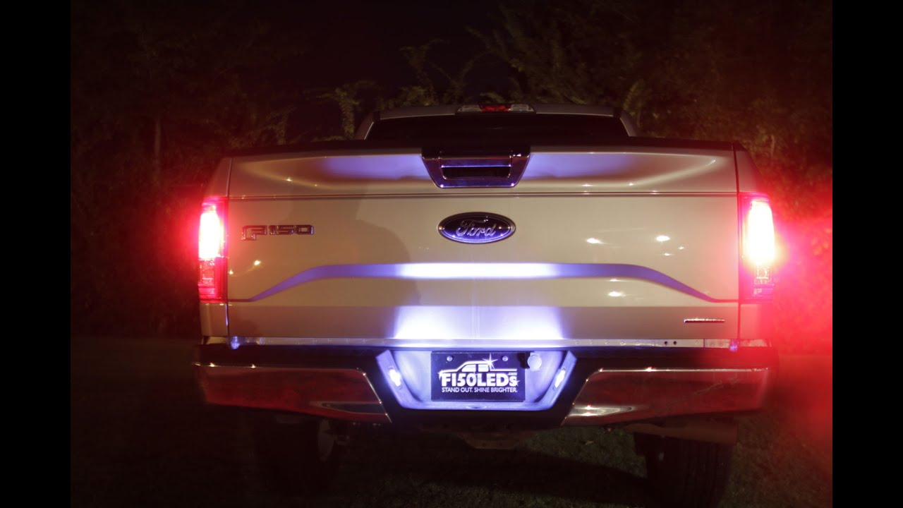 2015 f150 led tag license plate lights from f150leds com. Black Bedroom Furniture Sets. Home Design Ideas