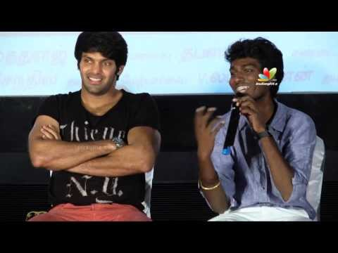 Why Nayanthara in this role? | Arya, GV Prakash, Atlee Interacts with Press on Raja Rani Success