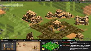 AGE OF EMPIRES 2 - EXPERT PLAYERS - TheViper vs Spring - 1v1 Arabia