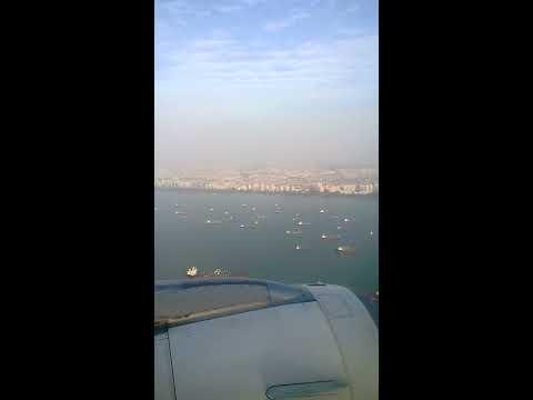 Tiger Airways Bangalore to Singapore TR 2653 : Landing at Singapore's Changi Airport