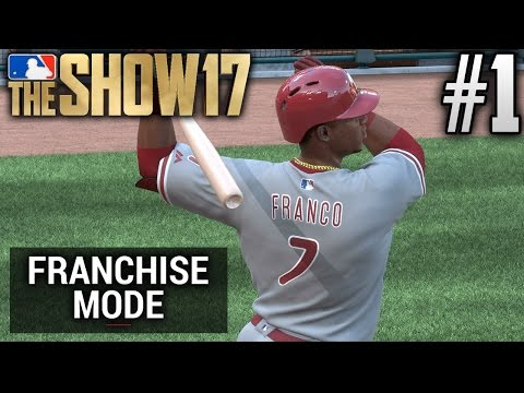 MLB The Show 17 Franchise Mode | Philadelphia Phillies | EP1 | OPENING DAY 2017 (G1 S1)