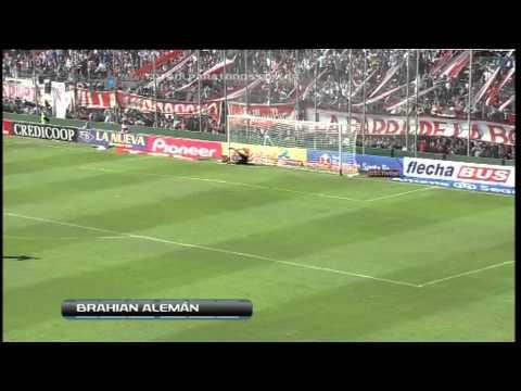 Gol de Alemán. Unión 1 San Carlos 0. Fecha 1 . Torneo B Nacional. Fútbol Para Todos