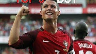 les 5 plus beaux buts de leuro 2016 ronaldo nainggolan 2