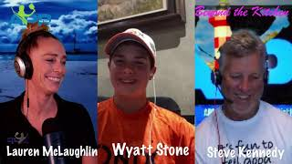 USAPA AAP Tour Interview of Wyatt Stone Pickelball Juniors by Lauren McLaughlin & Steve Kennedy