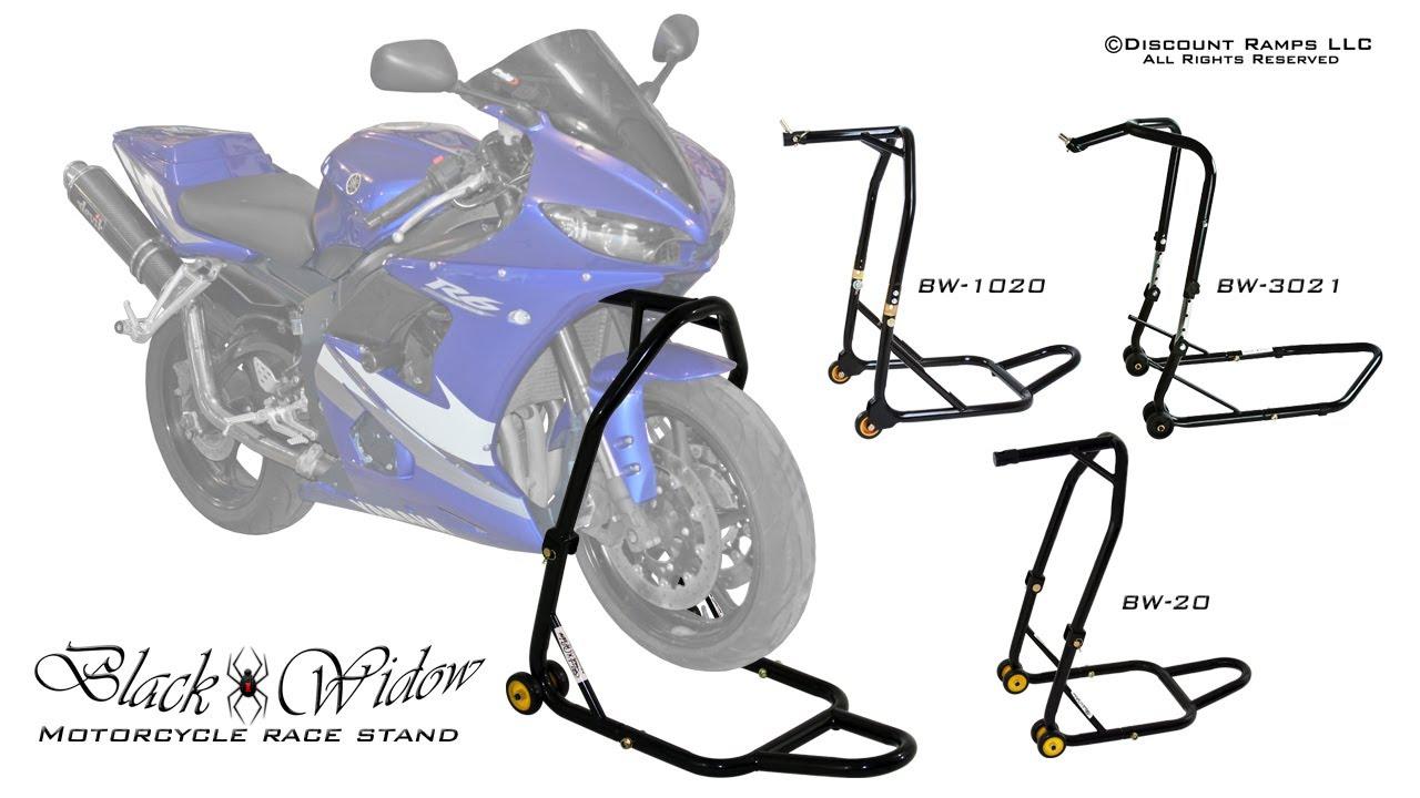 Black Motorbike Repair Stand Motorcycle Stand Motorcycle Lifter Motorbike Lifter