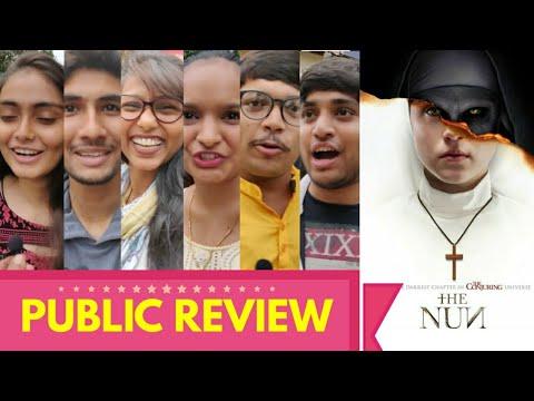 The Nun PUBLIC REVIEW   First Day First Show   Horror Movie 2018 HD   Demián Bichir, Taissa Farmiga