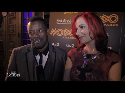 David and Carrie Grant on the Red Carpet  // MOBO Pre Awards // Premier Gospel