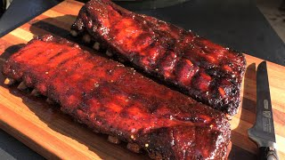 Rib Candy Baby Back Ribs | Slow 'n Sear Smoked Ribs on Weber Kettle