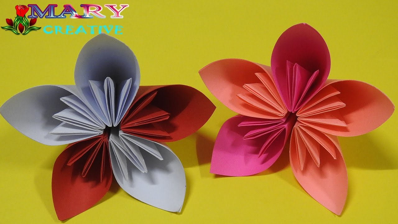 How to make origami kusudama flower step by step - Origami Kusudama Flower How To Make Kusudama Flower Mary Creative 12