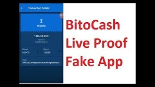 BitoCash Live Withdraw proof || 1 BTC Live Payment Prof 2019
